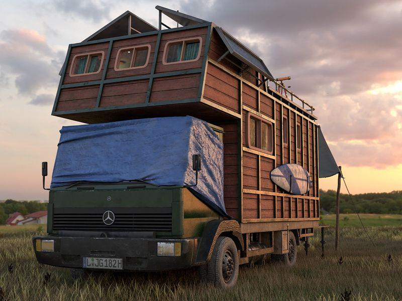 Digital Nomad Bus