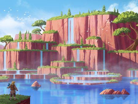 Environment Concept Design & Illustration