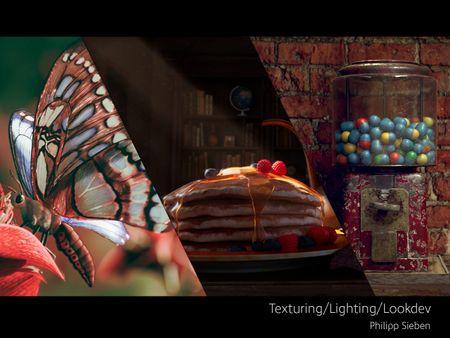 Texturing/Lighting/Lookdev reel