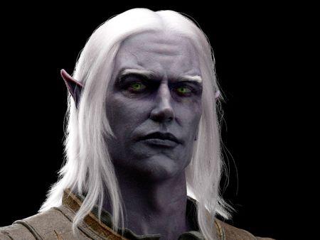 WIP elf character