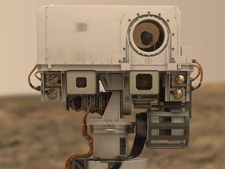 Mars Rover Curiosity Camera