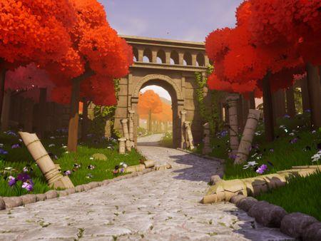 Abandoned Roman Gate