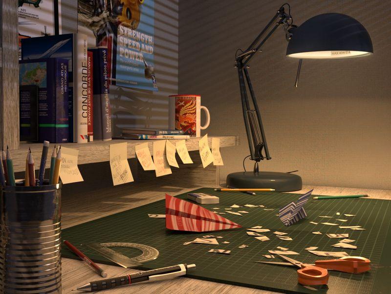 Rookie Aviator's Desk