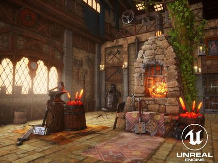 Game Environment Art Projects