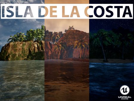 Isla de La Costa - Unreal Engine 4