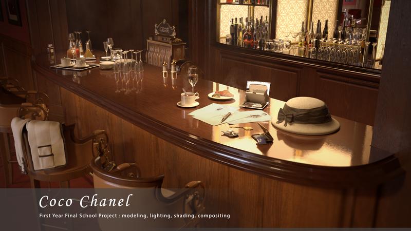 Coco Chanel at Ritz Bar