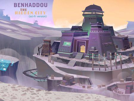BENHADDOU the hidden city