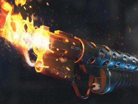 Resident Evil: Flamethrower - Remastered