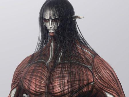 Xenomorph  / Colossal Titan Eren character assets