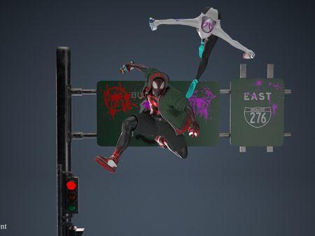 Spiderman Into the Spider Verse