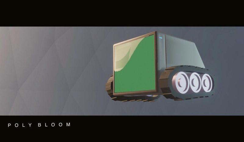 Robot mobile T.V