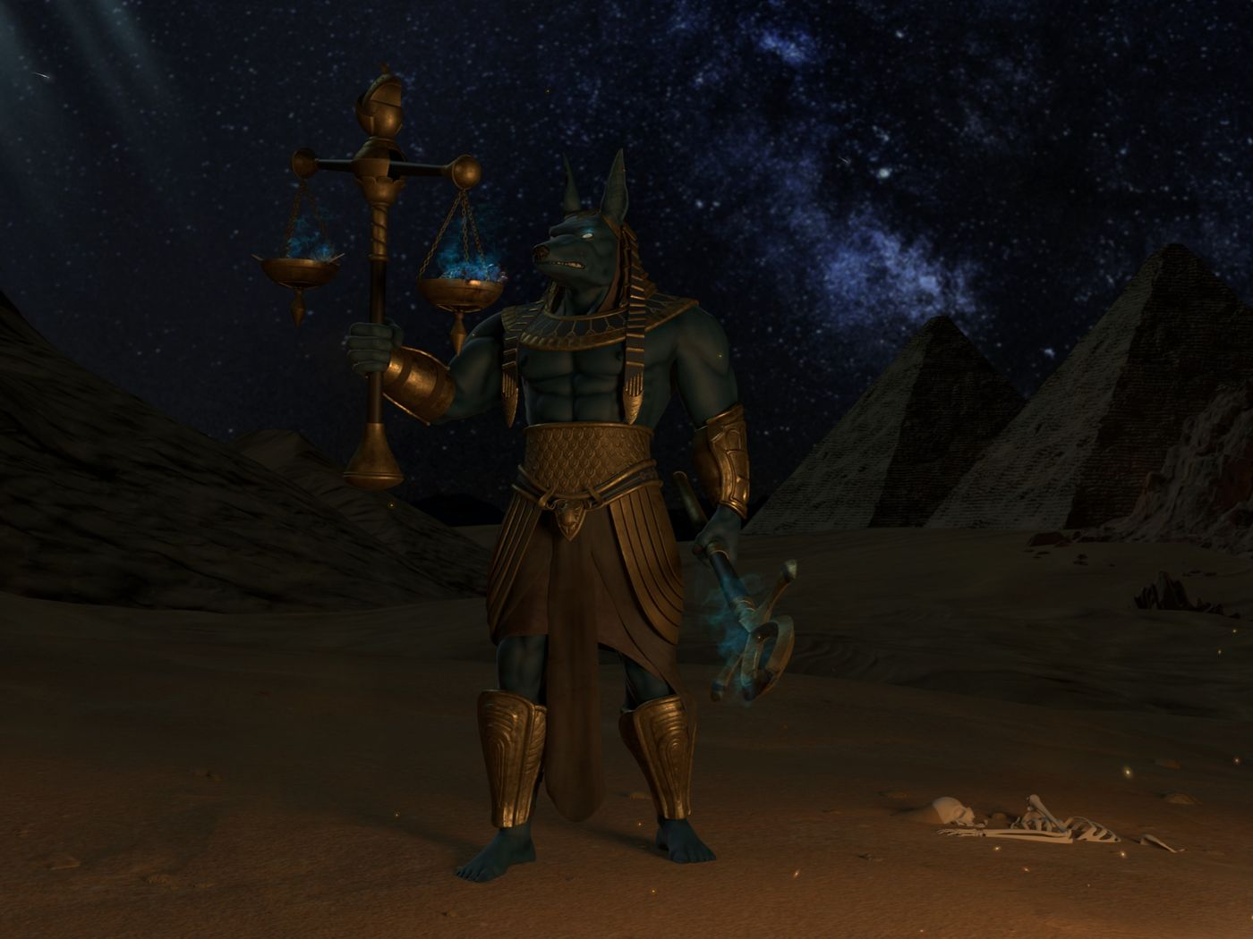 Anubis - God of Death
