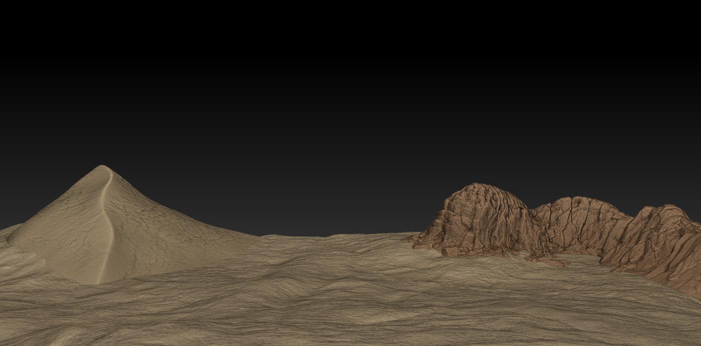 Anubis Z Brush Desert Polyfestation