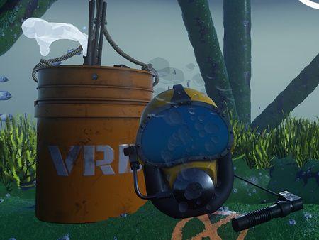 Deep-Sea VR - Underwater Welding Training Module