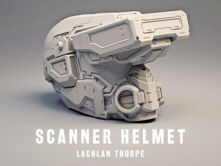 Scanner Helmet - Lachlan Thorpe