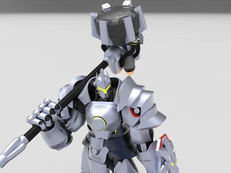 Reinhardt figurine
