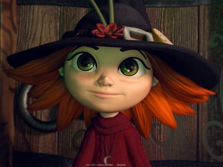 The Little Witch (Animated Short)