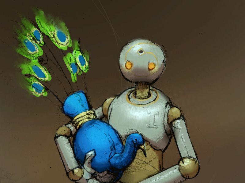 Lucas the automaton