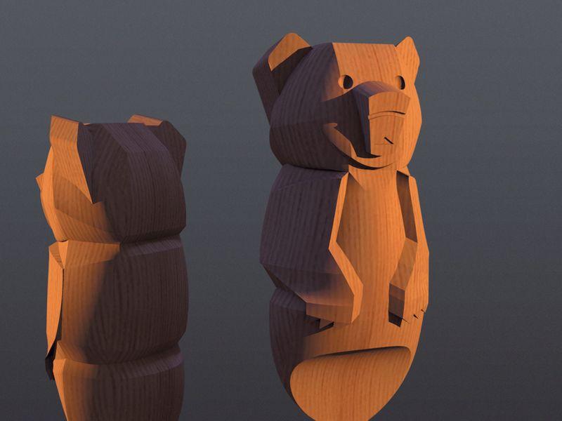 Brother Bear Totem