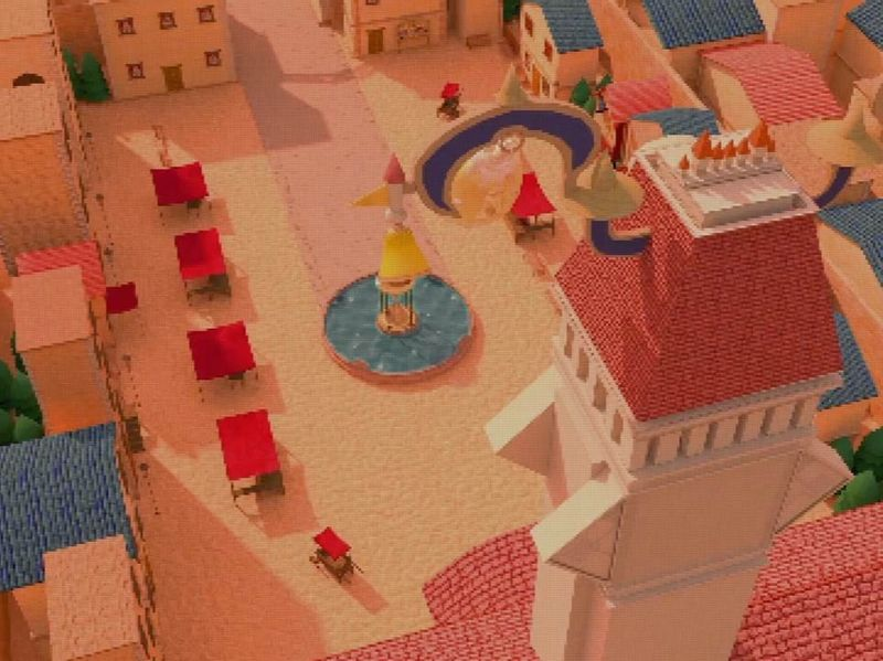 Kingdom Hearts Inspired Town Square