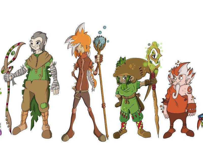 2D Concept Art/Character Design