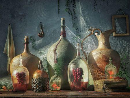 Life in bottles