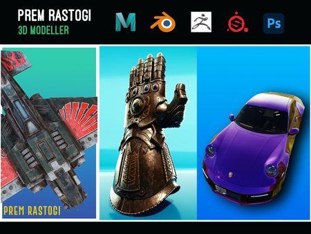 Prem Rastogi: 3D Modeller