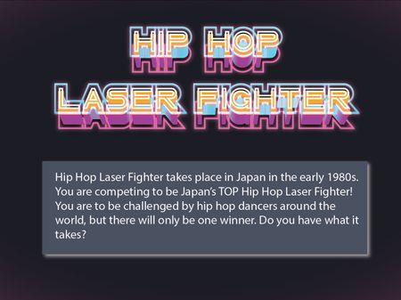 Mobile Game Hip Hop Laser Fighter UI