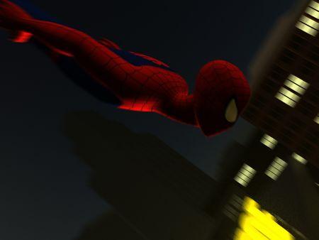 Spiderman 3D Animation