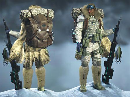 Commander Character