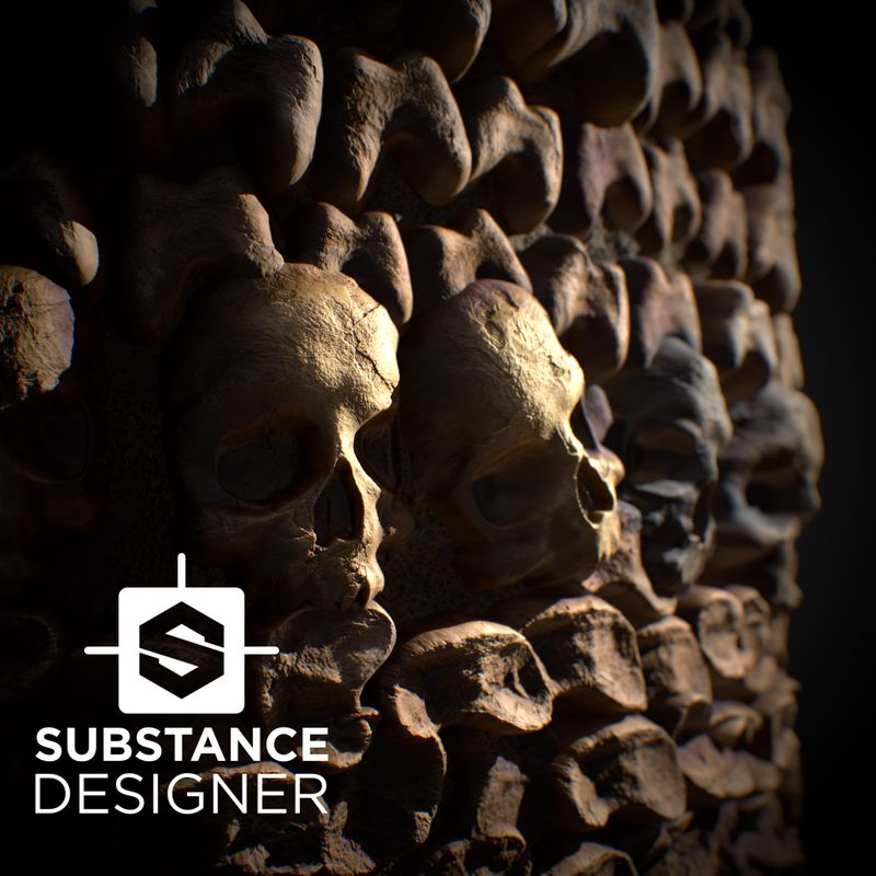Substance Designer Catacombs of Paris