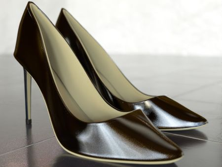 Women's high-heel shoes (Jimmy Choo Romy 85 pumps)