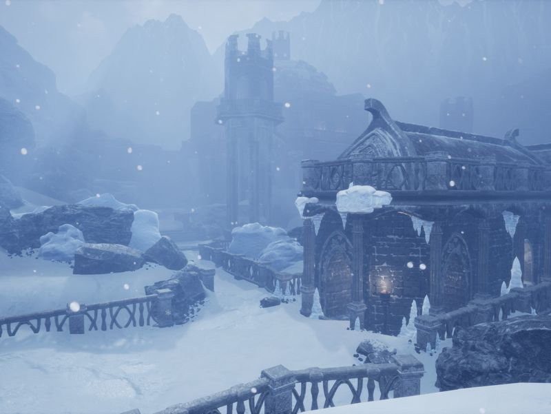 Snowy Mountain Temple