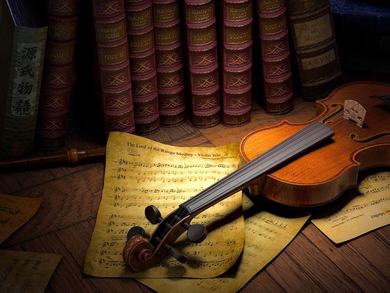 Tribute - Violin Composition
