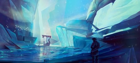 Ice Mountains