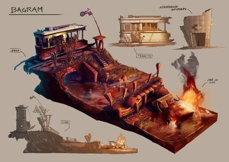 Video Game Environment Concept