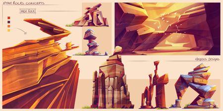Utah Rocks Concepts