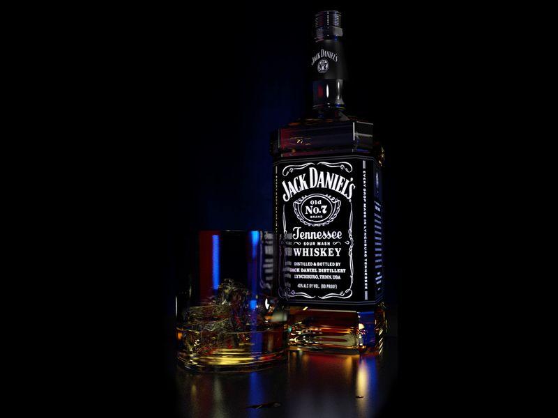 Jack Daniels Hennessee Whiskey