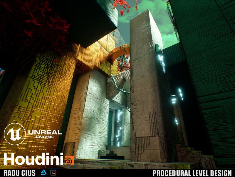 "Procedural Level Design in UE4 ""The Last City"""