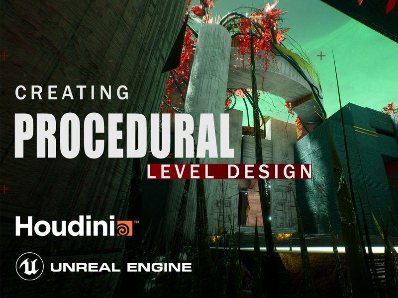 "Houdini TutorialProcedural Level Design in UE4 ""The Last City"""