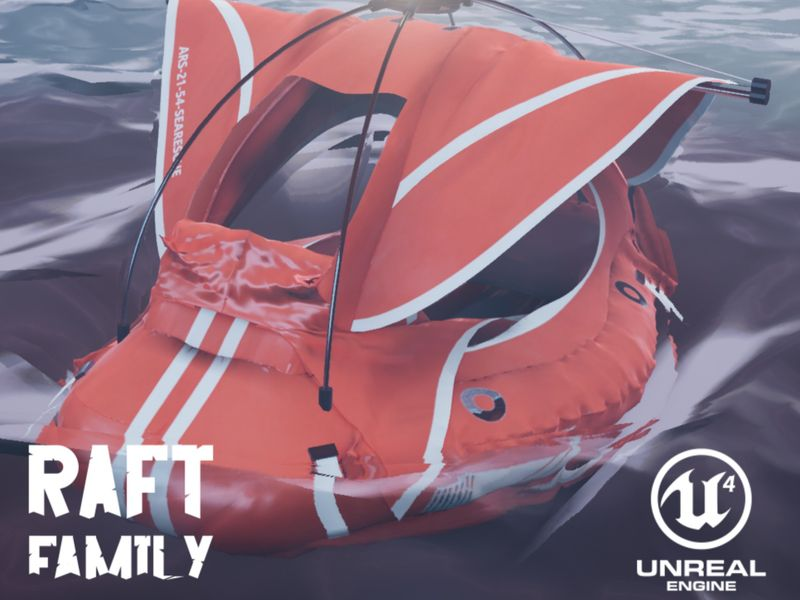 Raft Family - Assets