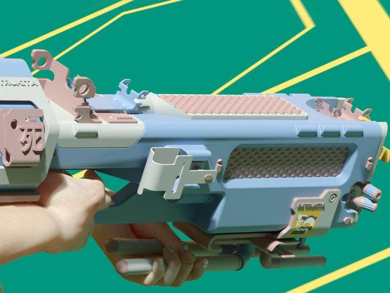 Lazer gun design