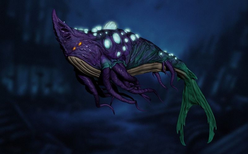 Fungal Whale 3D Concept