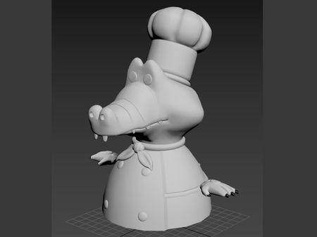 Overcooked! 2 - Crocodile Chef
