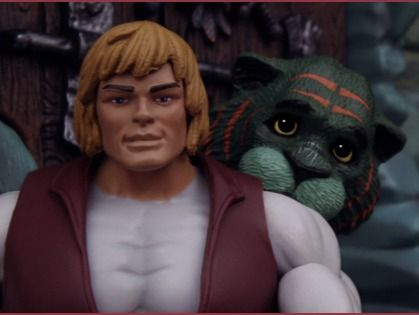 He-Man and the Masters of the Universe Stop Motion Title Sequence