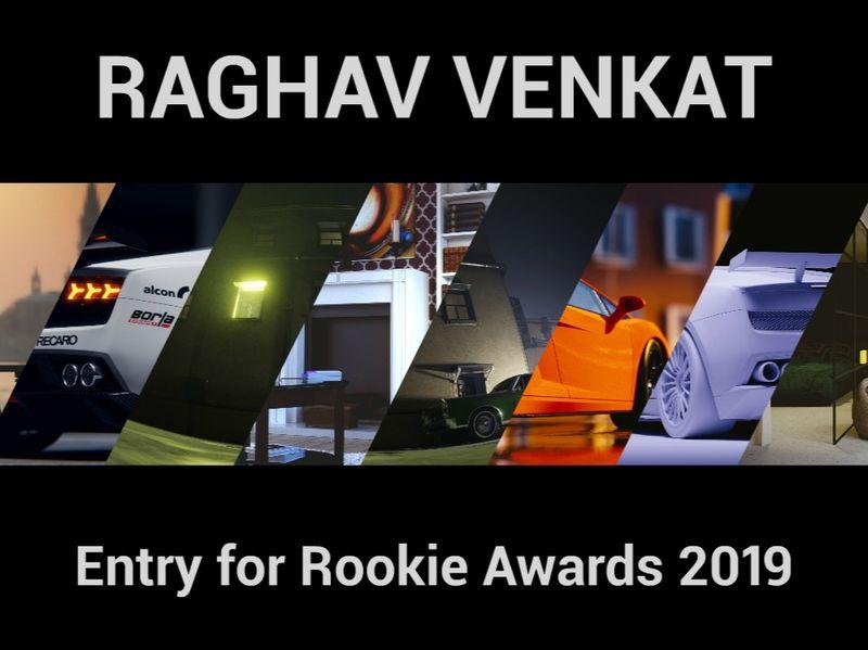 Raghav Venkat - The Rookies 2019 Entry