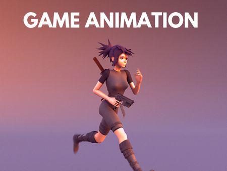 Game Run Cycle Animation