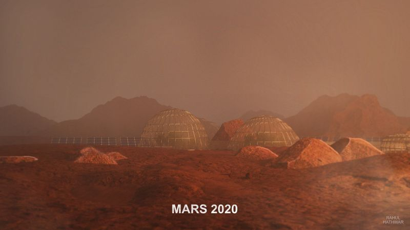 Making Mars Colonies