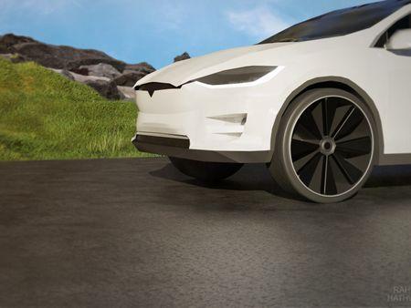 Tesla Model X 2017 Modeling Project