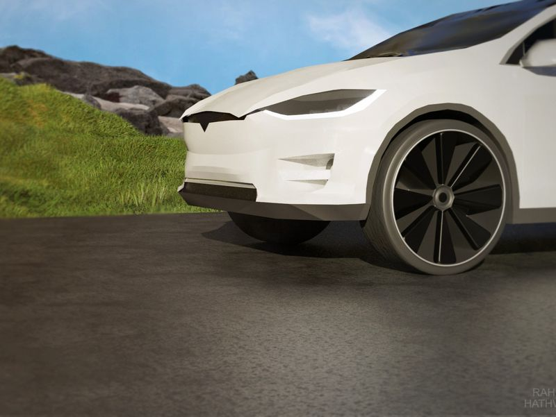 Tesla Model X 2017 Modeling Project